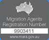 澳大利亚注册移民代理 MARN:9903411